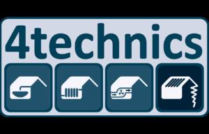 logo 4technics 2018 - blauw